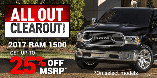 RAM 1500 Clearout