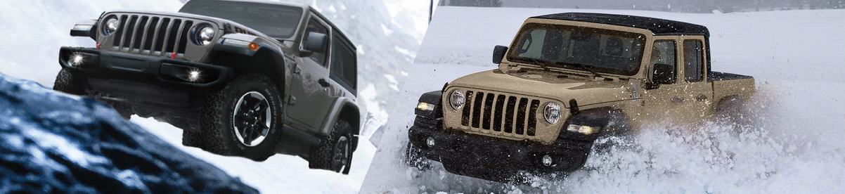 Adventure Awaits in the 2020 Jeep Wrangler and 2020 Jeep Gladiator