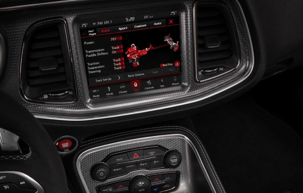Dodge Challenger Infotainment System