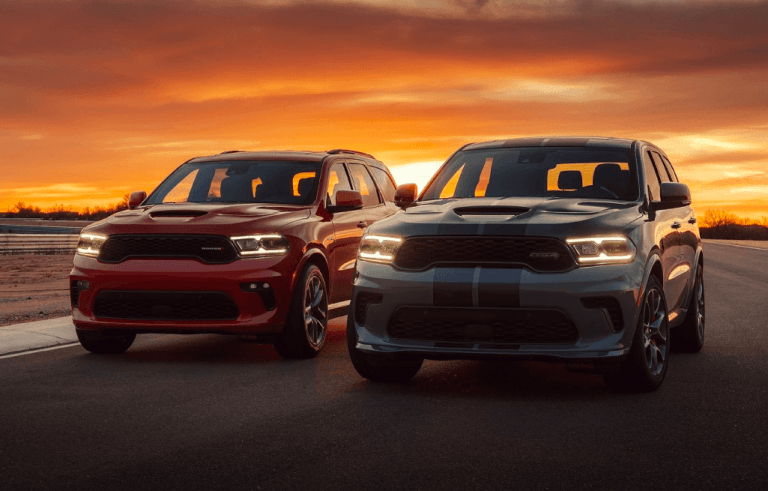 Experience the Thrill of the 2021 Dodge Durango
