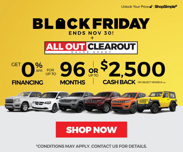 Black Friday All Out Clearout Sales Event in Mississauga
