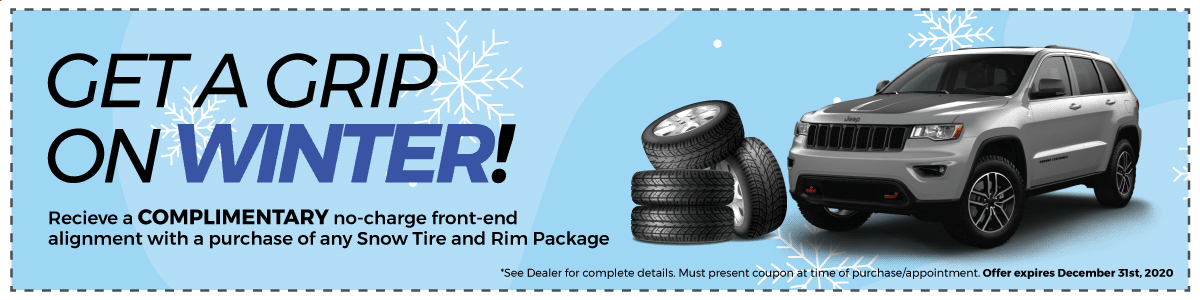 Winter Tire Special at Cooksville Dodge Chrysler Jeep Ram
