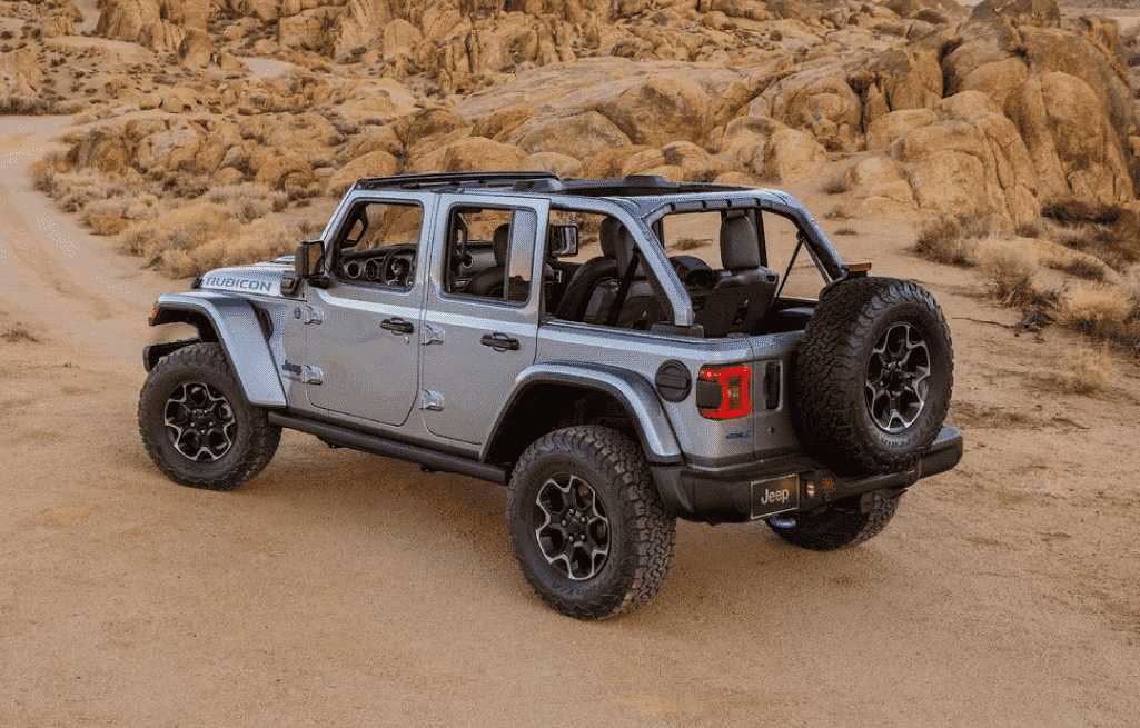 The 2021 Wrangler 4xe Sets a New Standard for Hybrid Performance