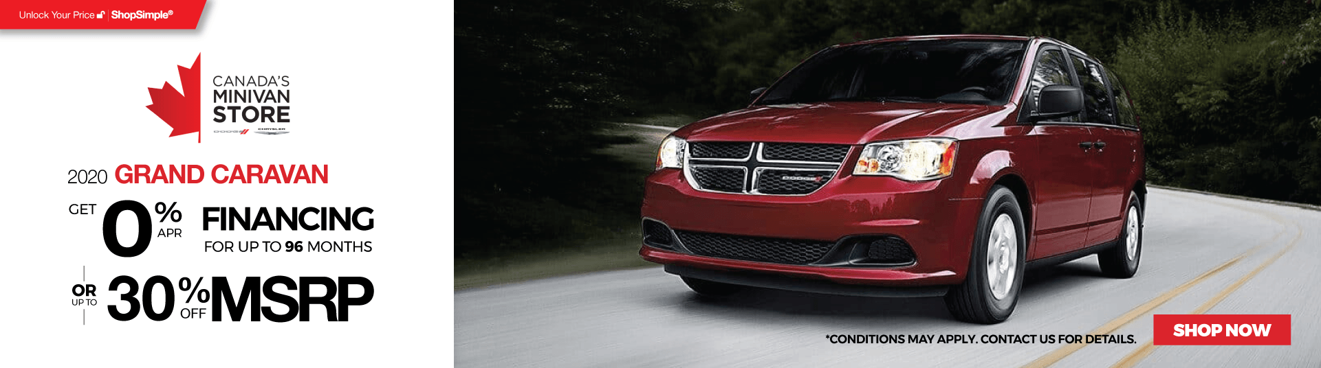 New Dodge Grand Caravan for Offers in Mississauga