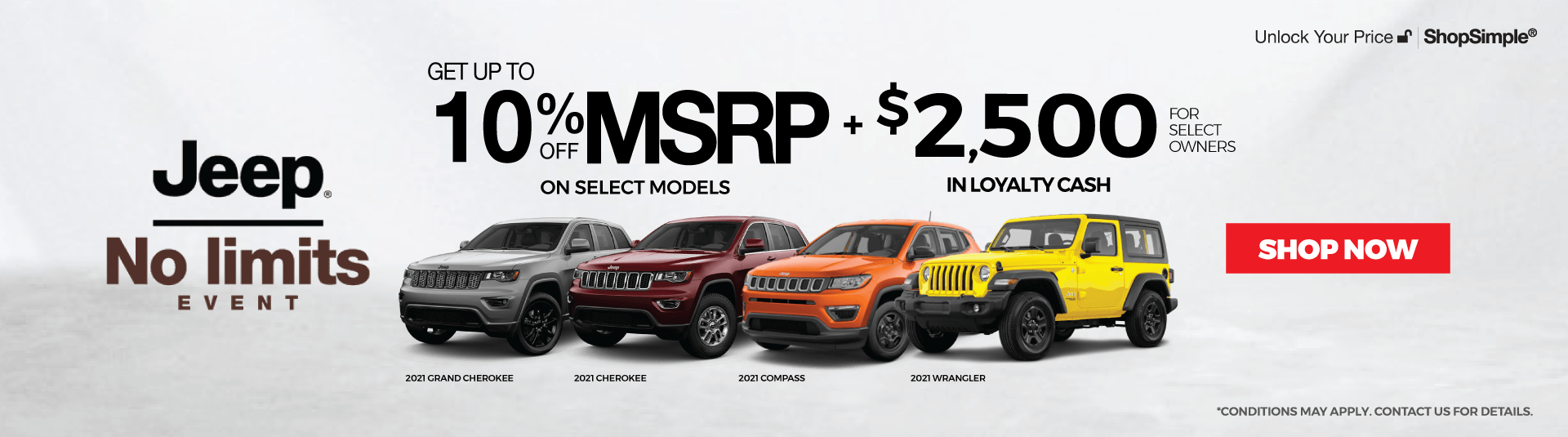 2021 Jeep for Sale Offers in Mississauga
