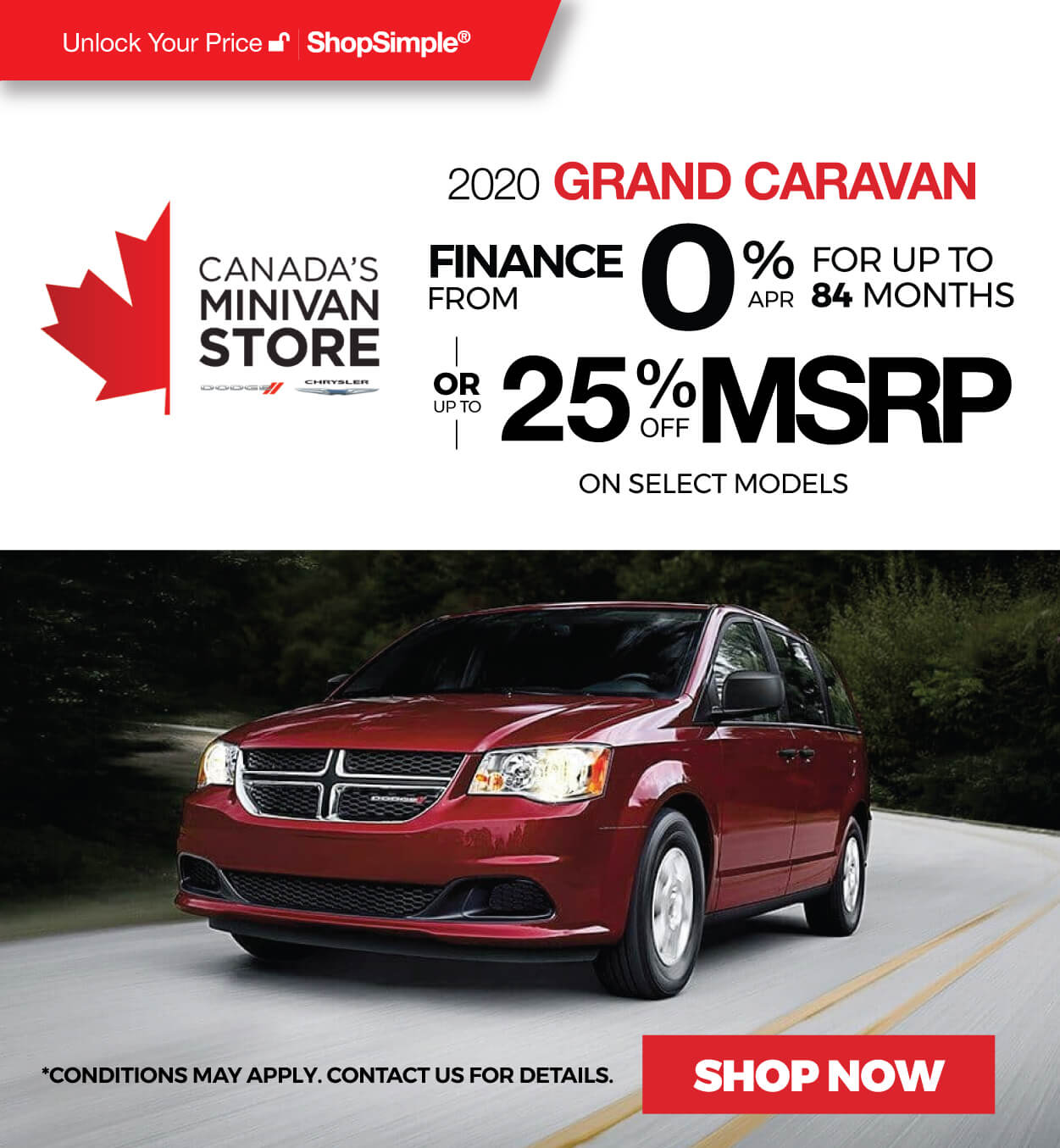 2020 Dodge Grand Caravan for Sale Offers in  Mississauga