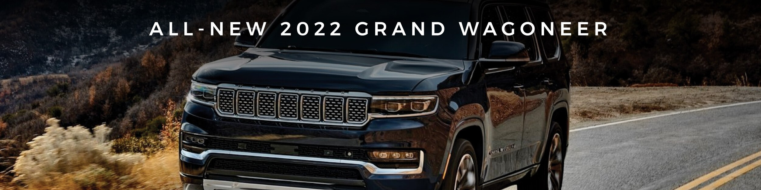 The All-New 2022 Jeep Grand Wagoneer