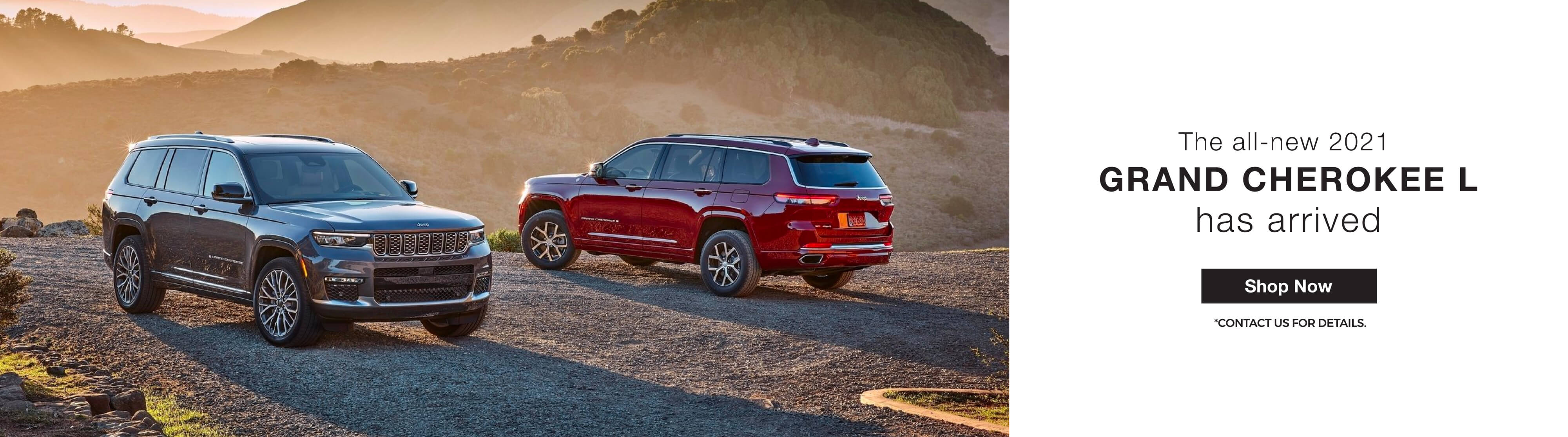 2021 Jeep Grand Cherokee L for Sale in Mississauga