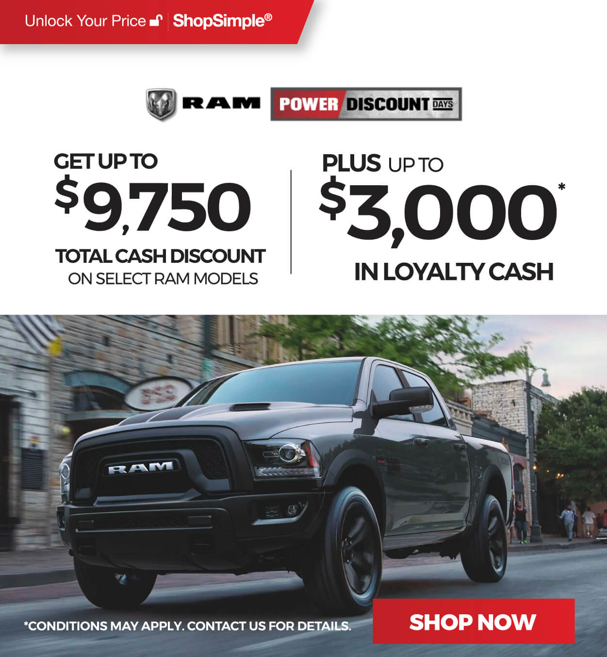RAM Offers in Mississauga
